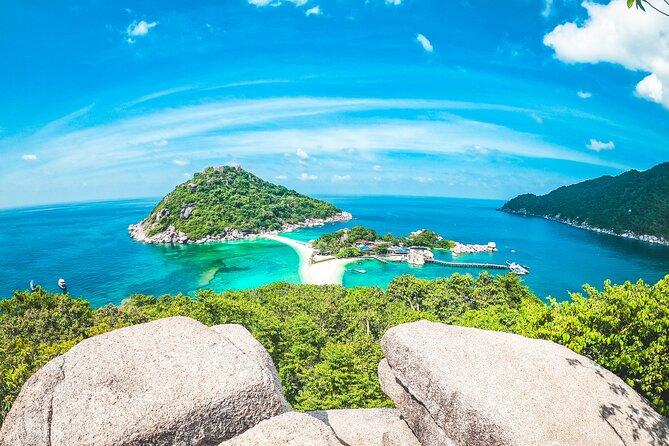 Full-Day Cruise of Koh Phangan, Koh Nang Yuan and Koh Tao From Koh Samui
