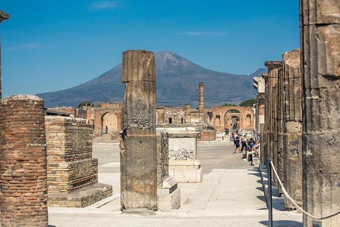 Ruins of Pompeii Guided walking tour with Skip the line ticket
