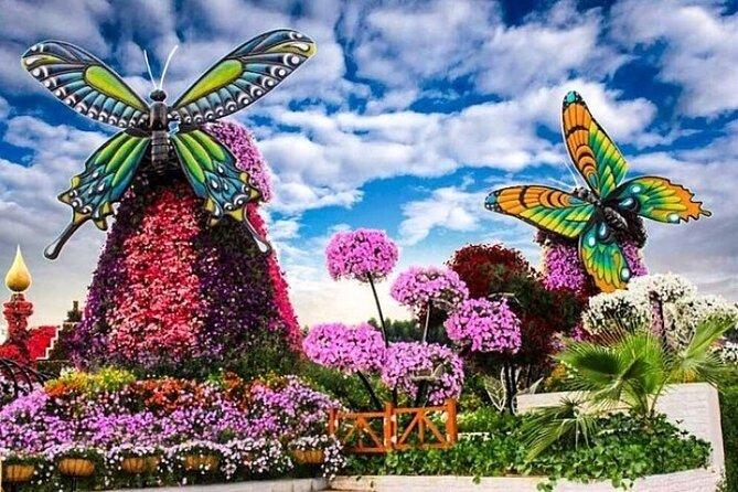 Miracle Garden Dubai Tour With Ticket