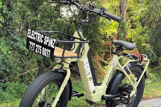 Full Day Electric Bike Rental in St. Petersburg Florida