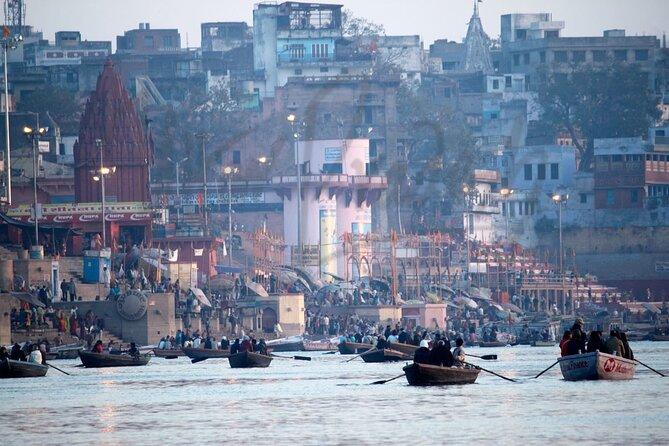 Varanasi & Sarnath city tour with early morning ghat visit & boat ride
