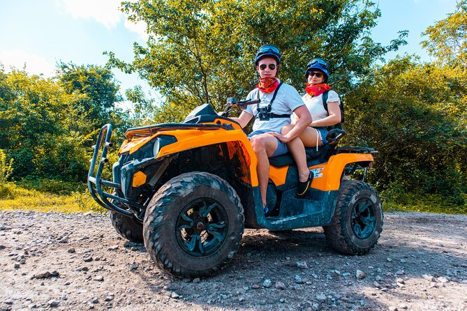 ATV Jungle Adventure & Playa Mia Beach Break® with transfer