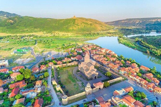 Jvari Monastery, Stalin Homemuseum, Uplistsikhe Caves, Mtskheta Private Day Tour