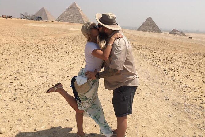 Private Full Day Tour Cairo museum and Giza pyramids from Hurghada by plane