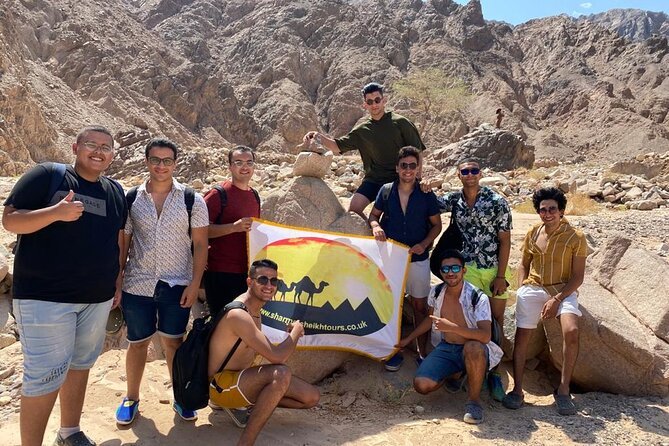 Grand Safari including Snorkeling at the Blue Hole and a Camel Ride along the Gulf of Aqaba