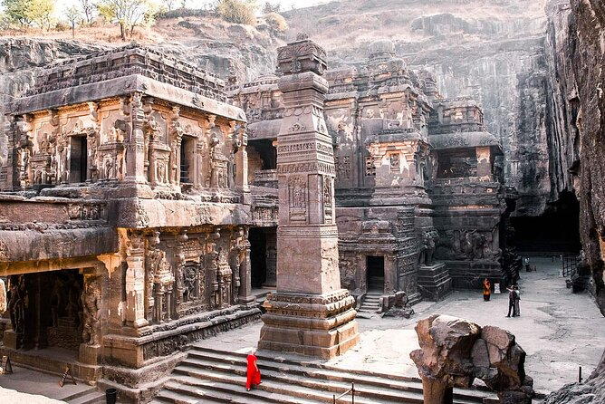 Private 2-day Ajanta & Ellora caves Tour with A Guide in your preferred Language