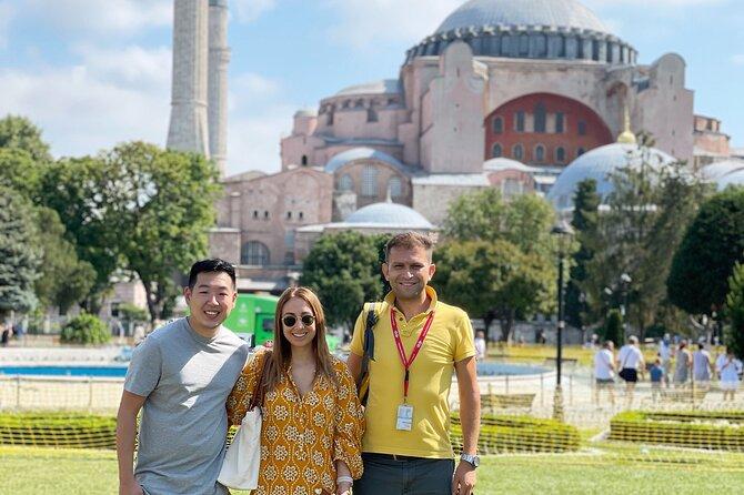 Hagia Sophia and Topkapi Palace Half Day Tour ( 9:00am and 1:30pm )