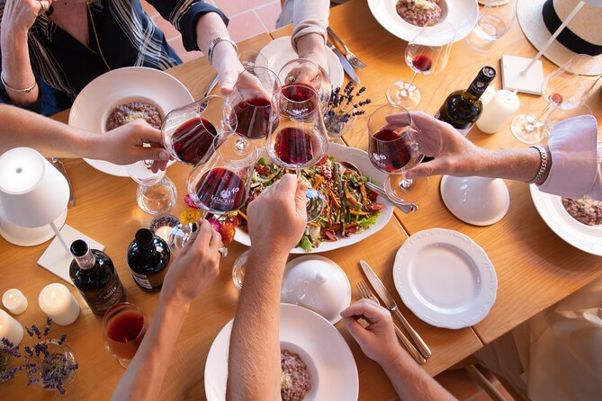 Tasting with a typical Tuscan lunch in Montalcino