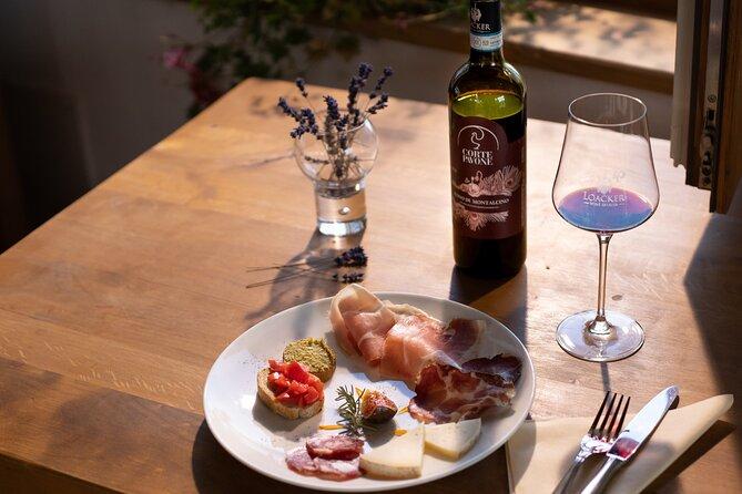 Montalcino & Maremma Tasting with a bite to eat