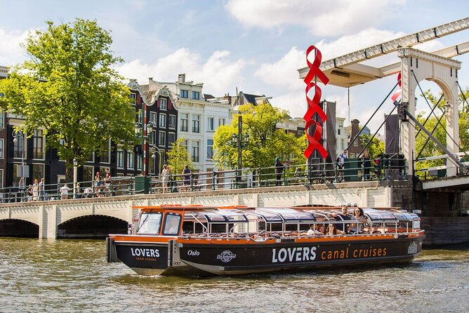 Amsterdam Sightseeing Canal Cruise by Semi-Open Boat