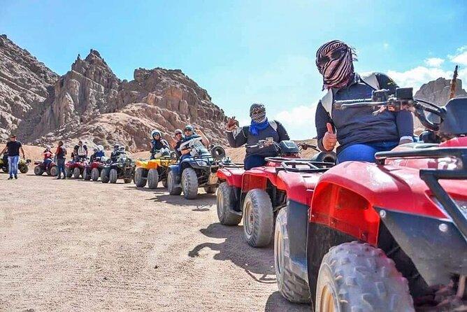 Quad Bike and Bedouin Dinner Safari excursion Sharm el Sheikh