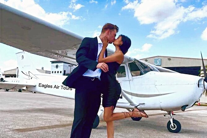 Private Romantic Excursion Air Tour with Champagne
