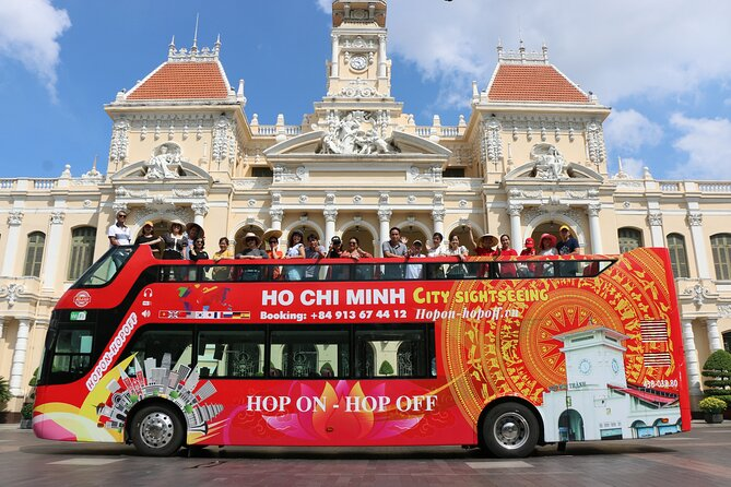 Ho Chi Minh City Tour: 1h on Double decker - Independence Palace Pass (1 or 2D)