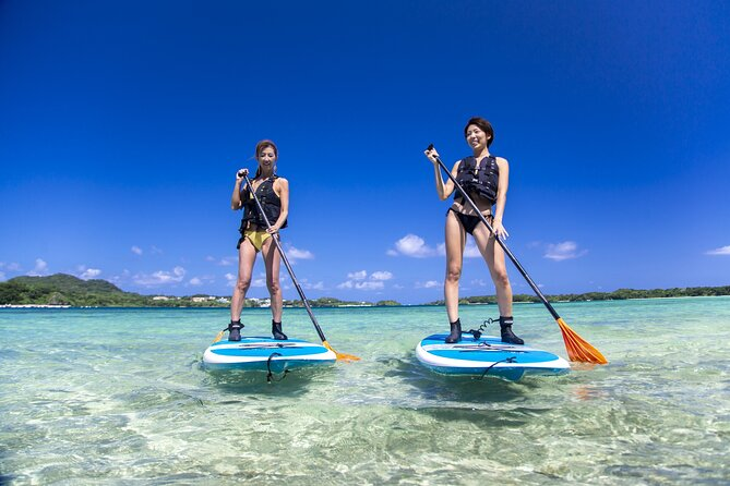 [Ishigaki]SUP/Canoe tour at Kabira Bay+ Snorkeling Tour at Phantom Island