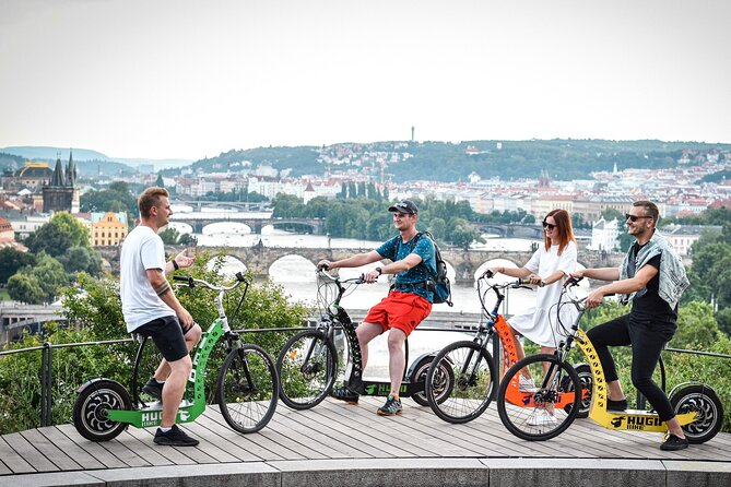 1.5-Hour Panoramic E-Scooter Tour In Prague