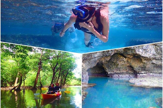 SUP/Canoe tour at Mangrove Forest+Snorkeling tour at Ishigaki-Blue Cave