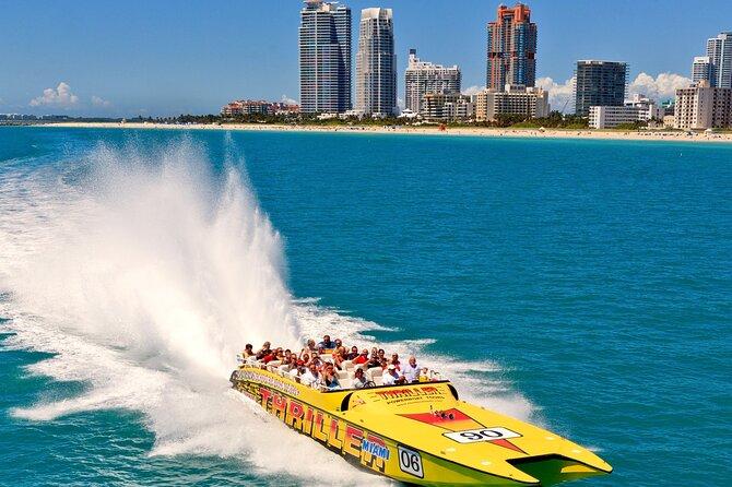 Miami Open Bus Tour and optional Boat Tour