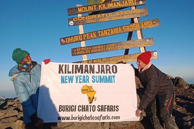 6 Days Kilimanjaro new year summit- Marangu route  BURIGI CHATO SAFARIS CO L.T.D