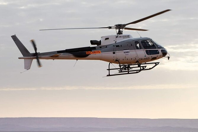 Helicopter Ride with overnight in Luxury Desert Camp - Tour from Marrakech