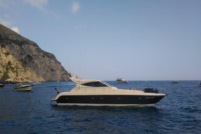 Private Cruise to Capri and Amalfi coast from Positano or Amalfi - yacht 50'