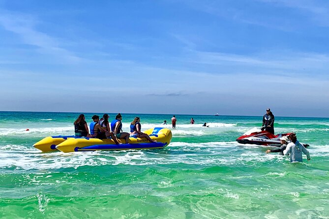 Small-Group Banana Boat Ride at Miramar Beach Destin