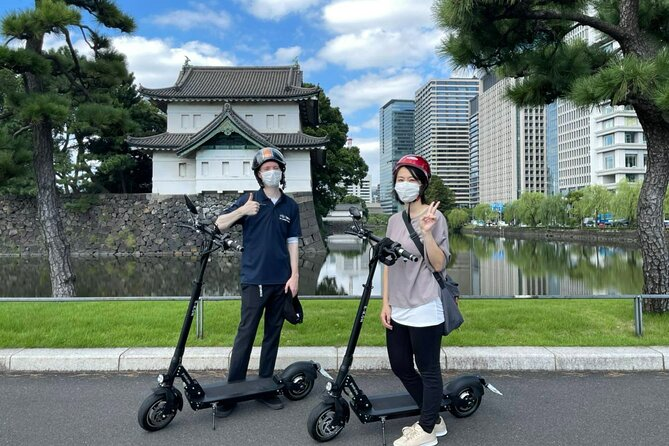 Guided Half Day Electric Scooter Tour in Tokyo - The Old and the New Tokyo