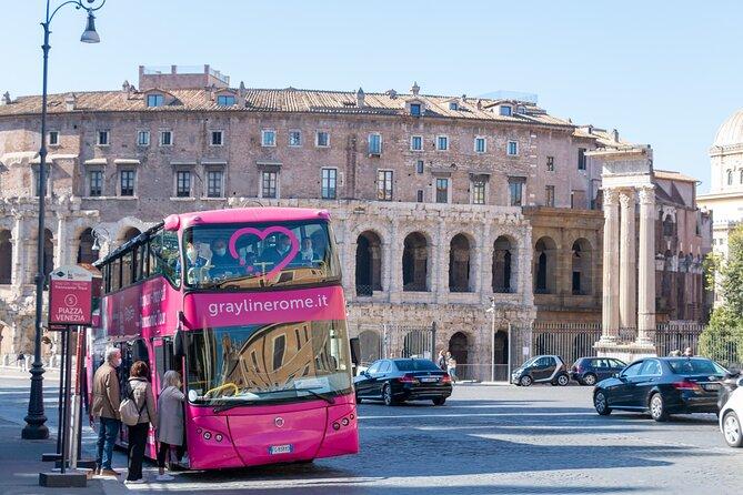 I Love Rome Hop on Hop off Open Bus Tour