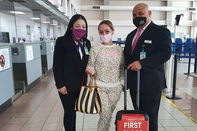 First Class Experience Aruba VIP Airport Hosting Departure