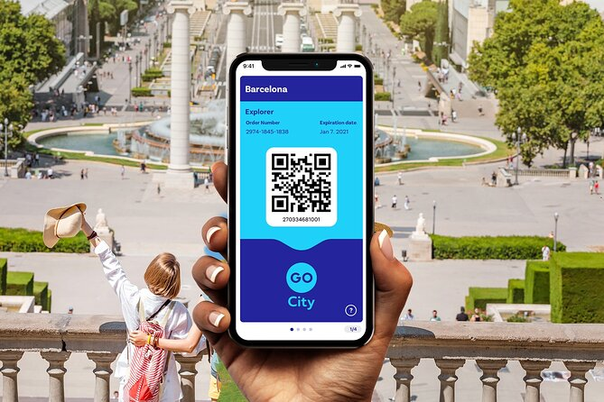 Go City | Barcelona Explorer Pass - Choose 2, 3, 4, 5, 6 or 7 Attractions