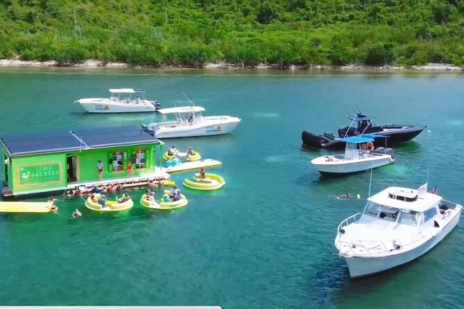 Circle the Island of St. John | Lunch stop at Lime Out (Taco Boat)