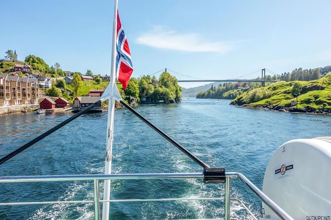The new attraction in Bergen - Bergen Fjord Cruise to Alversund Streams