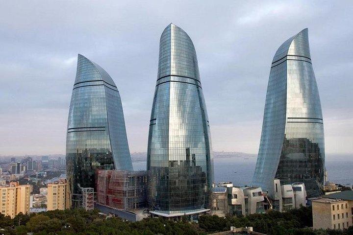 One week around Azerbaijan Baku Gabala Sheki Gakh