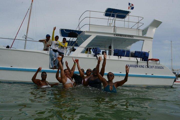 Caribbean party boat