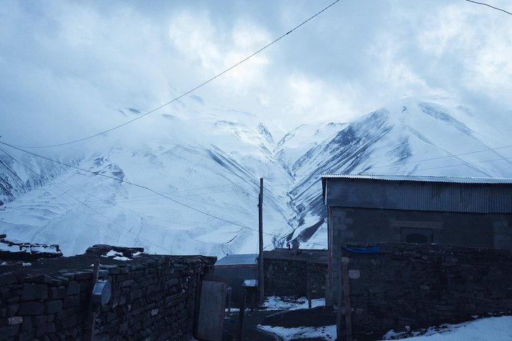 Day Trip to Khinalug, Guba