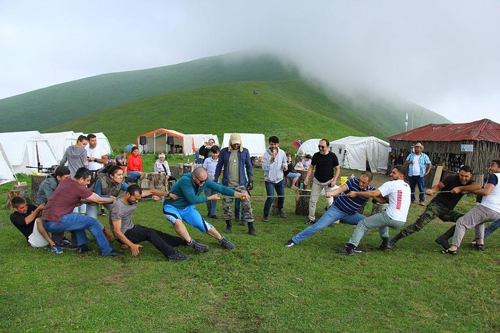 Rafting Tour in Azerbaijan