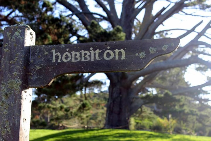 The famous Hobbit sign