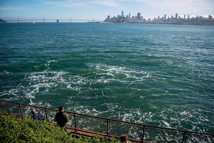 View of the San Francisco Bay from Alcatraz Island on an Alcatraz tour, photo