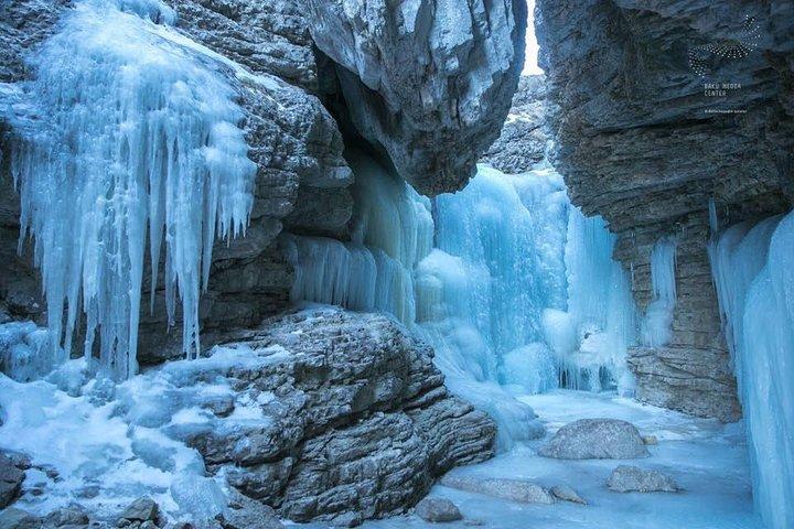 Griz village, Gur-gur waterfall and Gudyalchay Canyon hiking