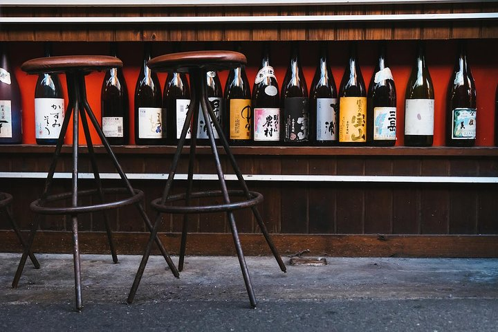 Osaka sake tasting tour