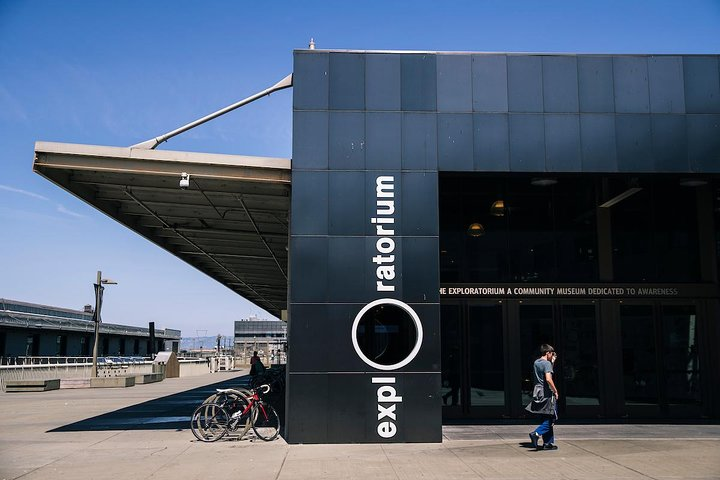 Set on Pier 15, the Exploratorium features hands-on exhibits that teach visitors about science, art, and human perception. (Photo credit: Stephen Lam)