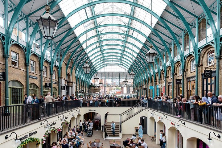 In the heart of London's West End, Covent Garden houses the Royal Opera House, plus several top theaters including the Lyceum and the Donmar Warehouse. Photo Credit: Annapurna Mellor