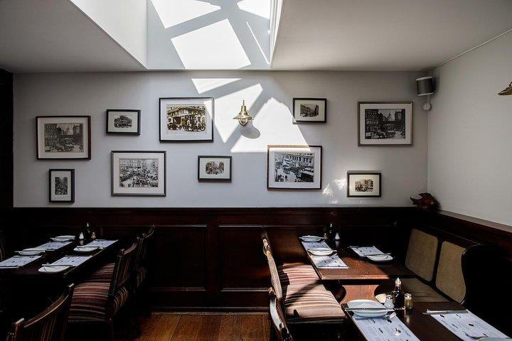 Inside North Sea Fish Restaurant. Photo Credit: Annapurna Mellor