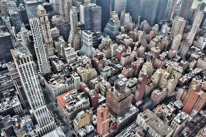 Observation deck view, New York City