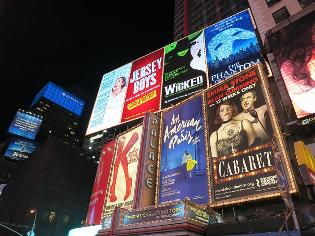 Broadway, 42nd Street, New York City
