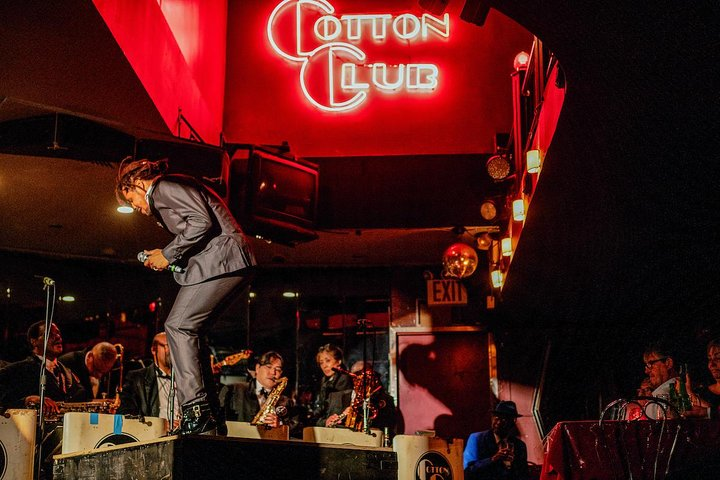 A live jazz performance at the famous Cotton Club in Harlem. Photo Credit: Lee Hoagland
