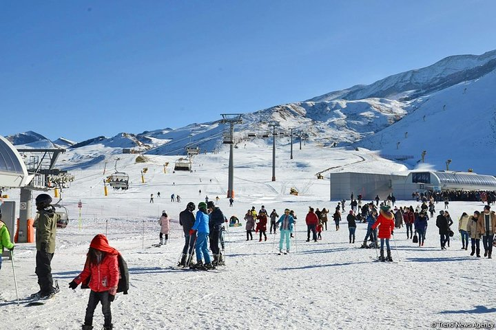 Full Day Guba-Shahdag Mountine Resort Private Tour with Lunch