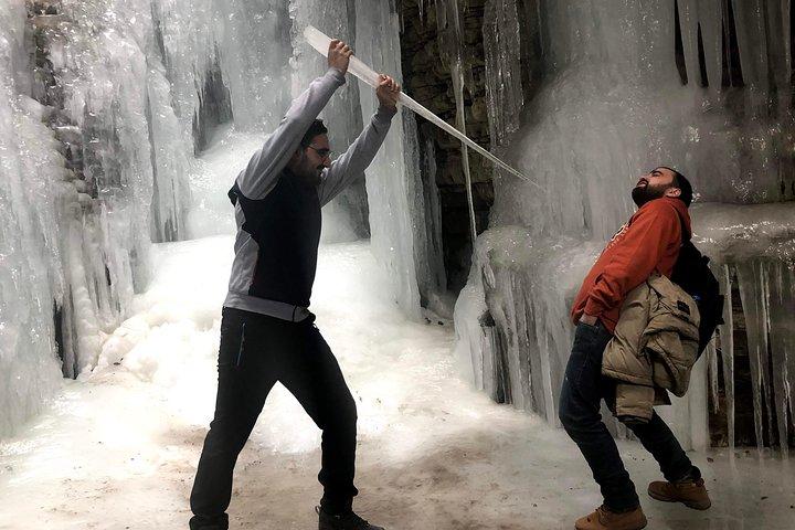 Griz Waterfall hiking tour
