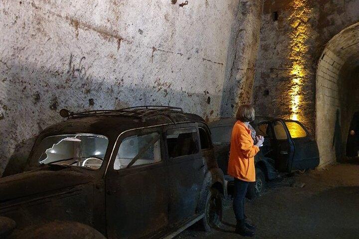 Naples : billet d'entrée à la Galleria Borbonica