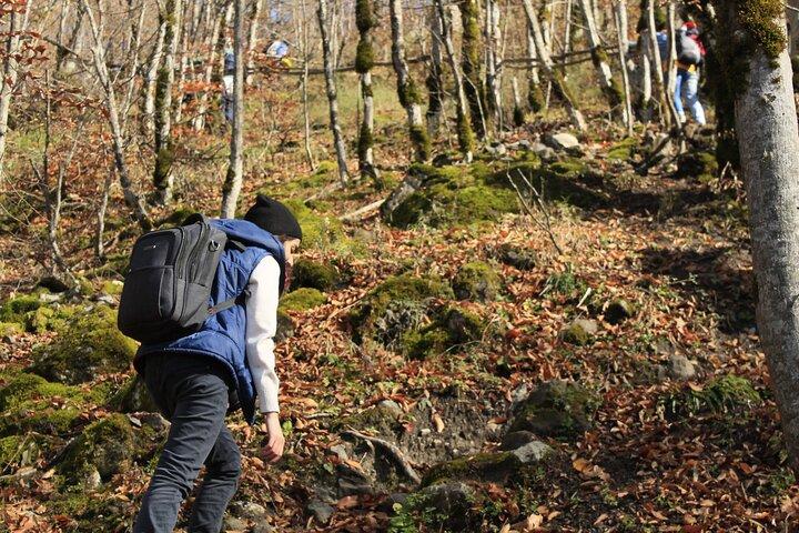 Garanohur lake hiking tour