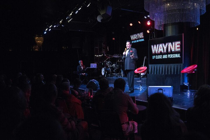 Wayne Newton on stage at Bally's Hotel and Casino in Las Vegas